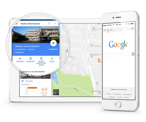 Google My Business für Immobilienmakler