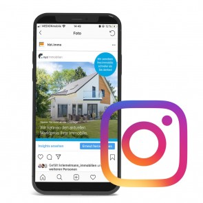 Digitale Immobilienakquise - Instagram